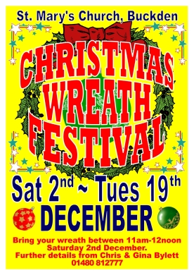 Christmas Wreath Festival (Yellow)1