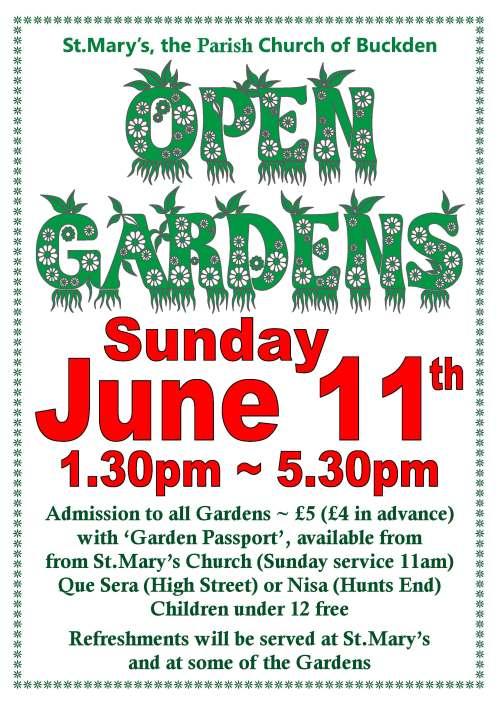 Open Gardens 2017 Poster