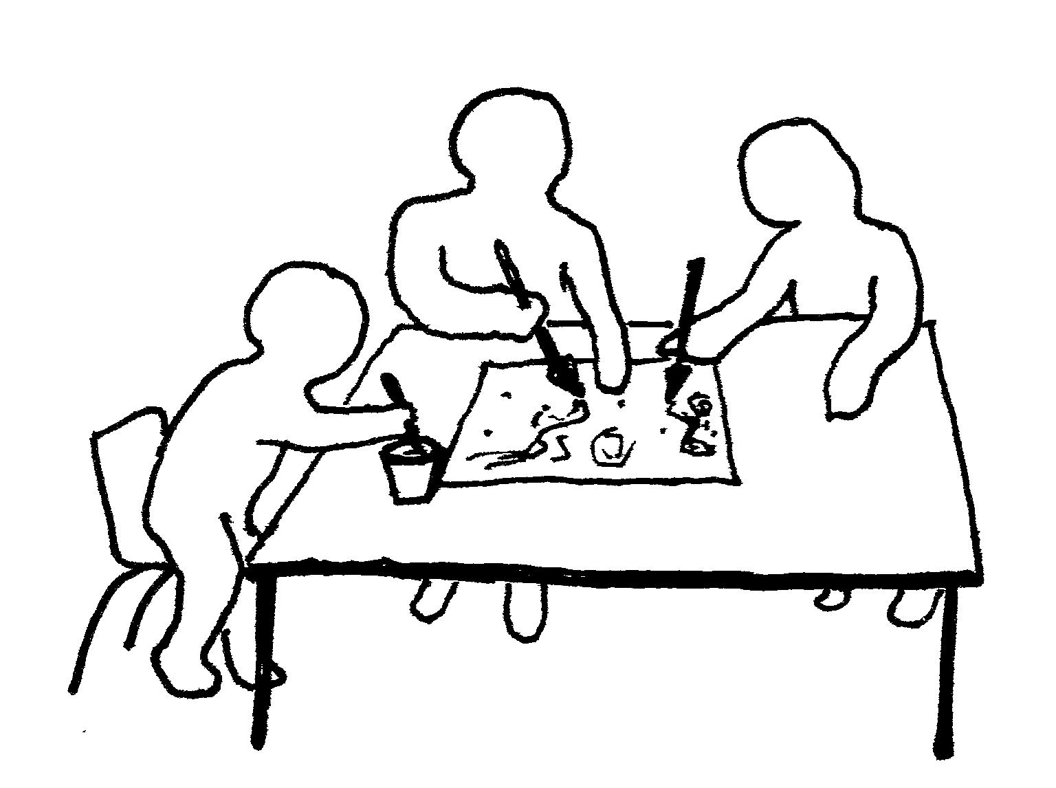 the hospitality of Abraham's children