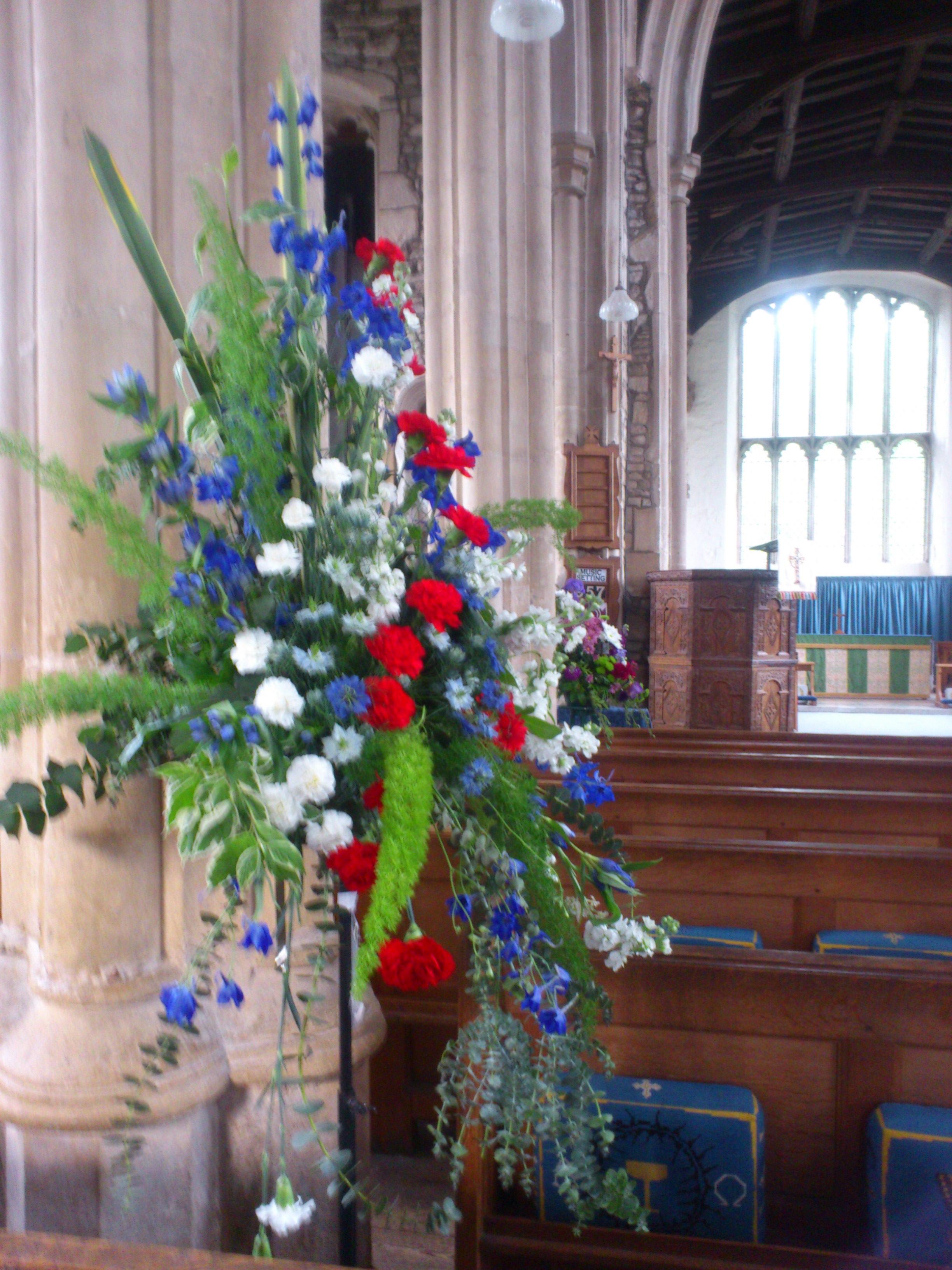 flower arranging st marys buckden the a1 church