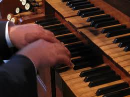 organ playing