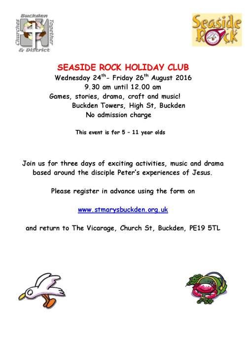seaside rock information