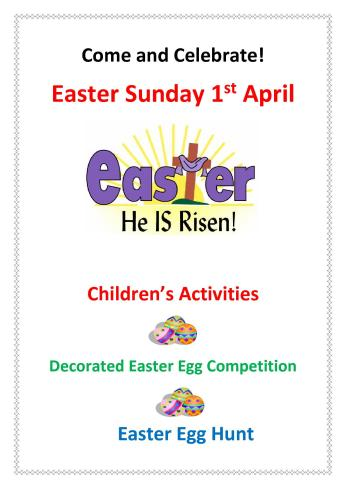 Easter Sunday poster 20181