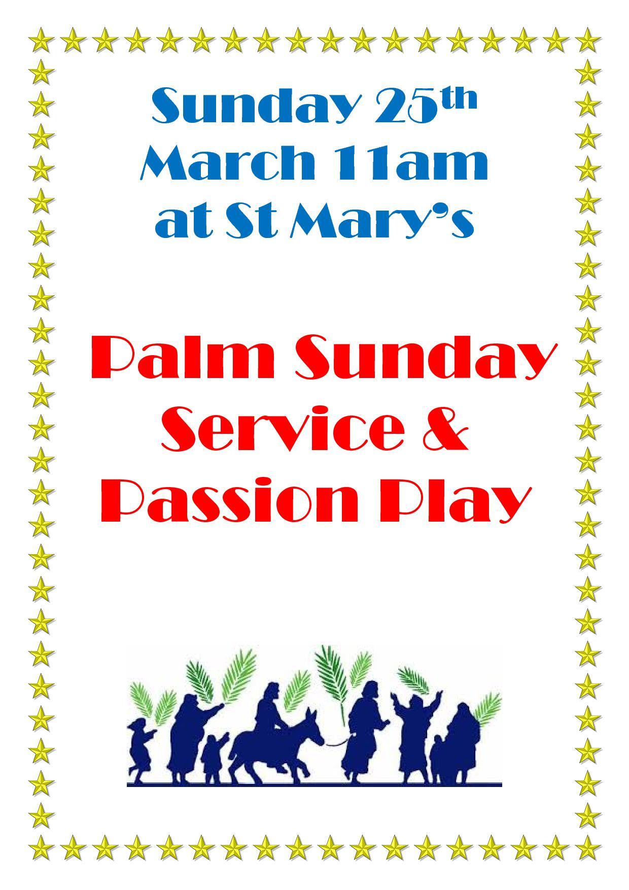 Palm Sunday Service Poster1