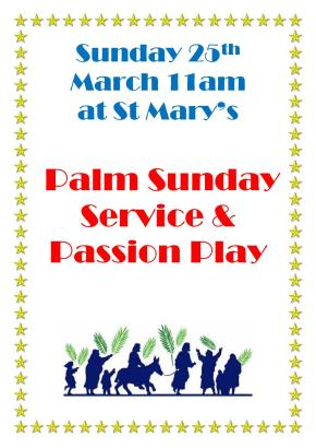 Palm Sunday Service Poster1