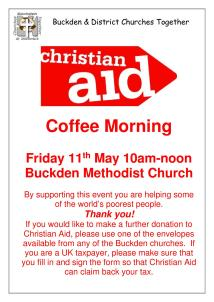 Christian Aid Coffee morning poster1