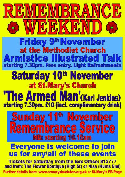 Remembrance Weekend Poster 11
