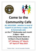 Community Cafe poster1