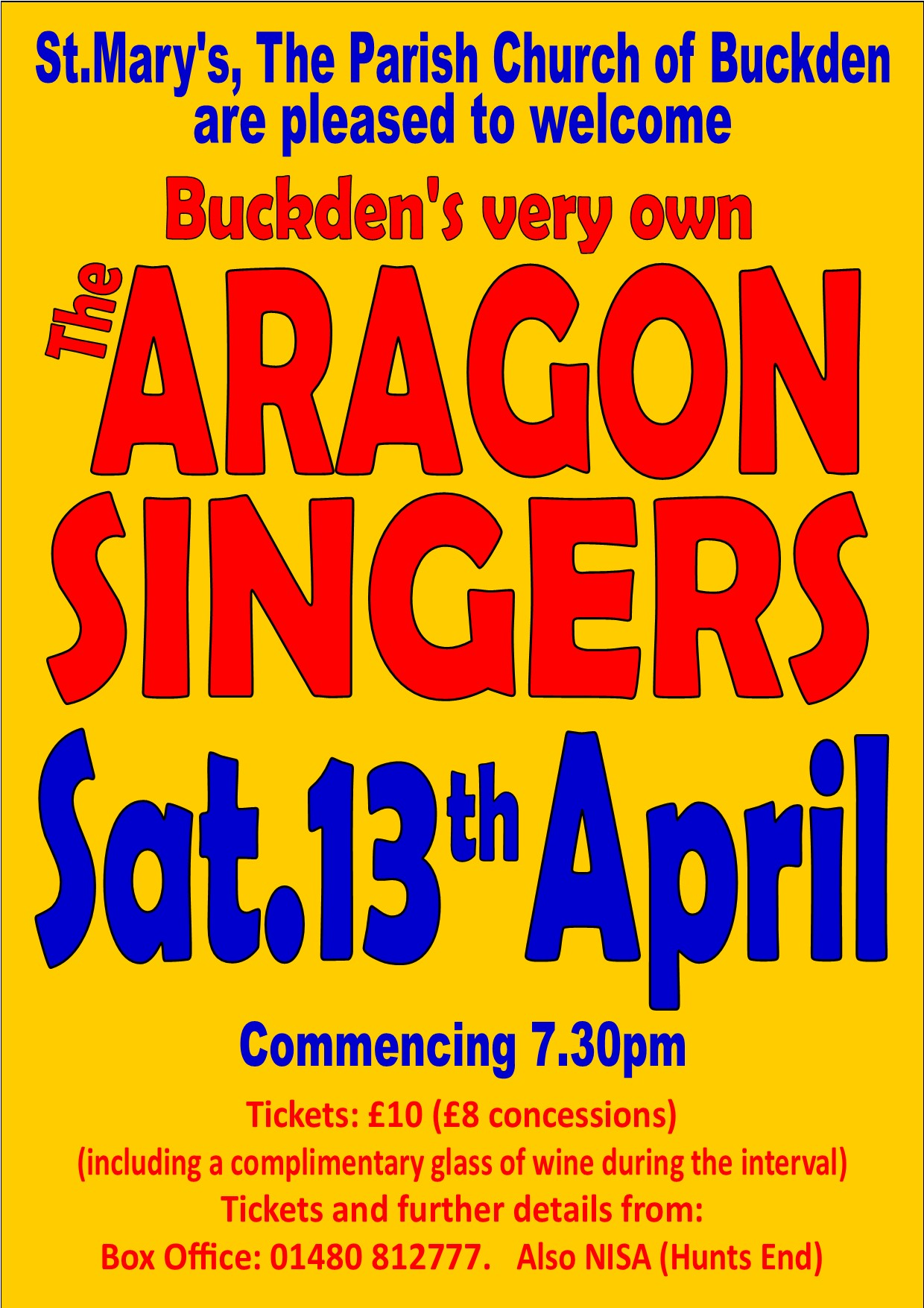Aragon Concert Poster