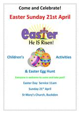 Easter Sunday poster 20191