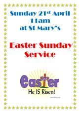 Easter Sunday poster 201912