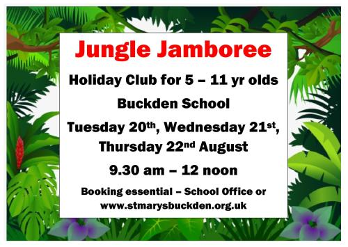 JUNGLE JAMBOREE poster1