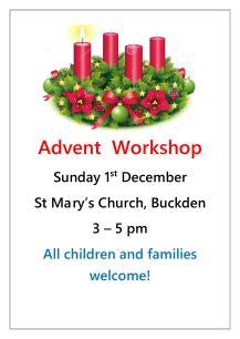 Advent Workshop poster1
