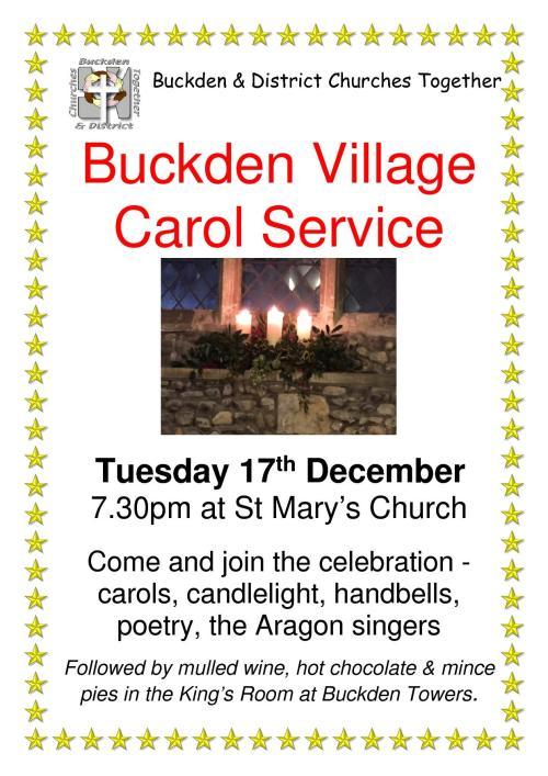 Carol Service Poster1