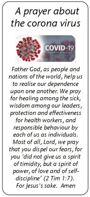 corvid19 prayer